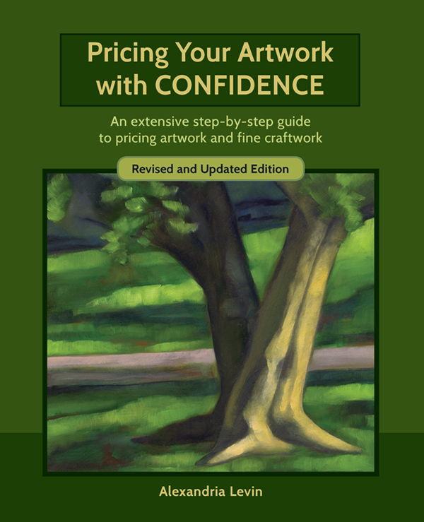 book cover for Prcing Your Artwork with Confidence